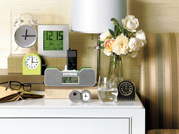 Bedroom clocks