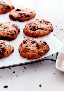 Cream Cheese-Chocolate Chip Cookies