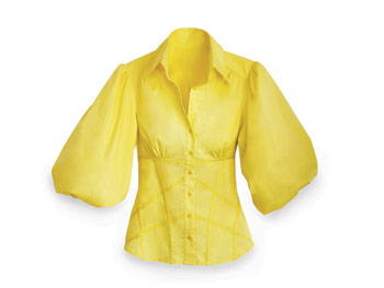 Great Buy: Bebe yellow top