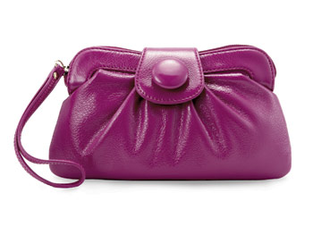 Great Buy: purple clutch
