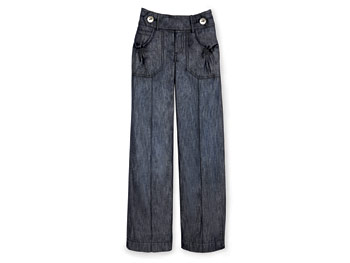 Great Buy: wide-legged jeans