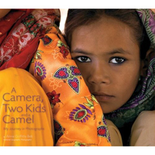 A Camera, Two Kids and a Camel