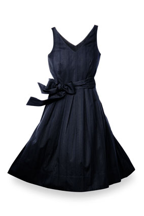 Dockers black dress