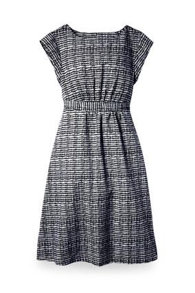 Sears black and white dress