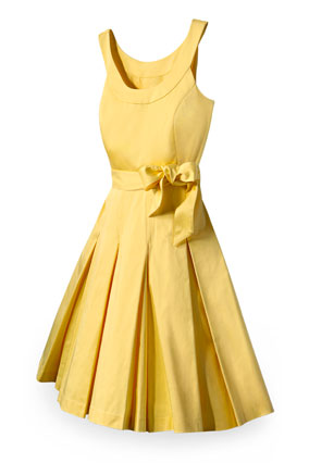 Marshalls yellow dress