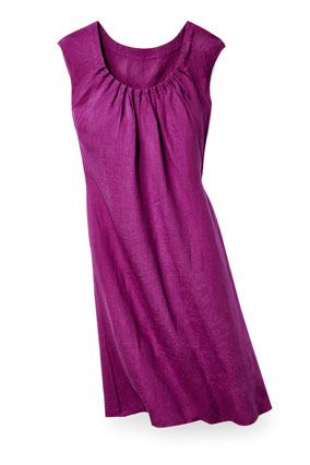 J Jill purple smock dress