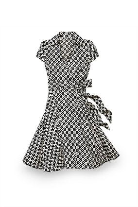 Evan Picone faux-wrap dress