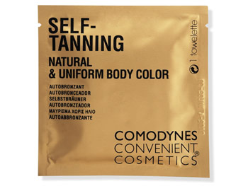Comodynes Convenient Cosmetics Self-Tanning Towelette