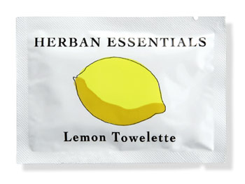 Herban Essentials Lemon Towelette