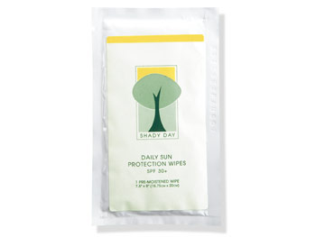 Shady Day Daily Sun Protection Wipes SPF 30+