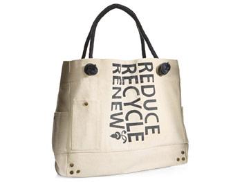 Beau Soleil reduce recycle reuse bag
