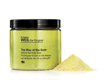 Dr. Andrew Weil for Origins, The Way of the Bath Matcha Tea Body Soak