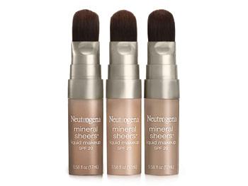 Neutrogena Mineral Sheers Liquid Makeup