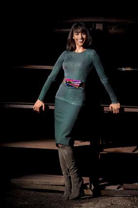Paula Patton in Ferretti and Pucci