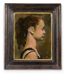 Sally Greenberg in 1996, a month before her manic attack. Oil on canvas, by John Dobbs, Sally's uncle.