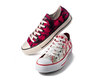 Cool new sneakers from (RED)