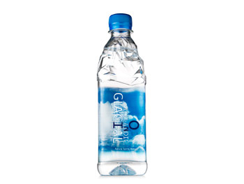 All-natural bottled water