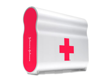 Hip first-aid kit