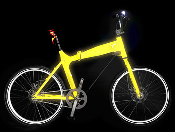Get a glow-in-the-dark bike.