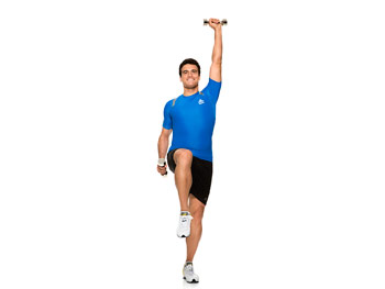 Opposite arm and leg raises