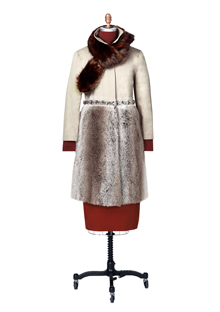 Faux fur coat from Gryphon New York