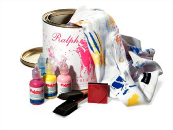Ralph Lauren Paint Your Polo Kit