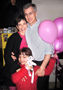 Dana Cowin got breast cancer, then threw a party.