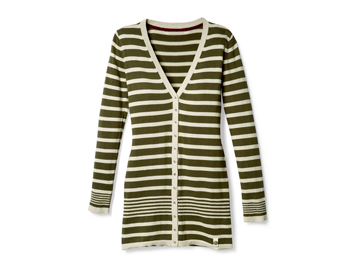 Striped LTB cardigan