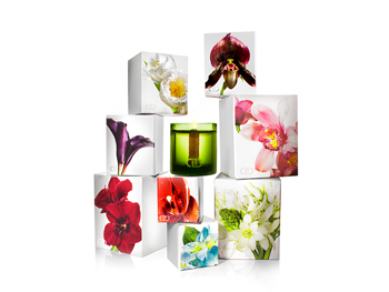 Floral candles from DaynaDecker.com