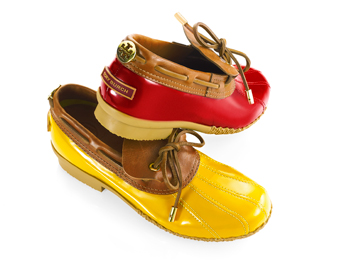 Tory Burch rain shoes