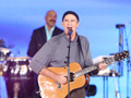 James Taylor performs.