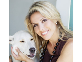 Tamar Geller and dog