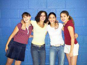 Popularity in school can predict health.