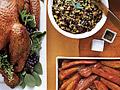 A light Thanksgiving menu