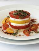 Cristina Ferrare's Tomato Tower recipe