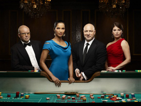 Judges for Top Chef season 6, Toby Young, Padma Lakshmi, Tom Colicchio and Gail Simmons