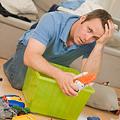Declutter your living room.
