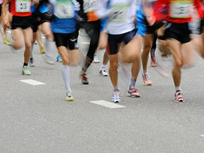 Running can cause injuries.