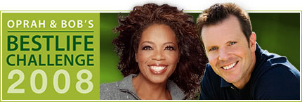 Sign up for Oprah and Bob's Best Life Challenge