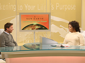 Eckhart Tolle and Oprah