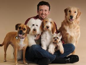 Billy Rafferty and dogs
