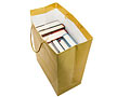 Shopping bag of books