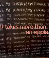 Thank a teacher.