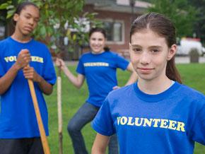 Become a volunteer.