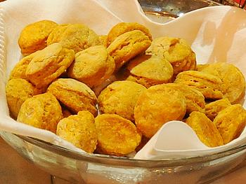 Cristina Ferrare's Sweet Potato Biscuits