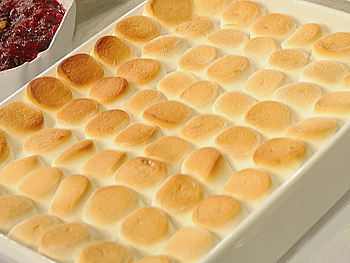 Cristina Ferrare's Sweet Potatoes with Marshmallows
