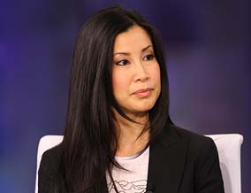 Lisa Ling in a Sacramento tent city