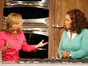 Cat Cora says cooking doesn't have to be difficult.