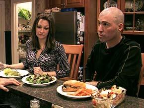 Chef Curtis Stone cooks dinner for Matt and Melissa.