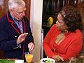 David Murdock and Oprah
